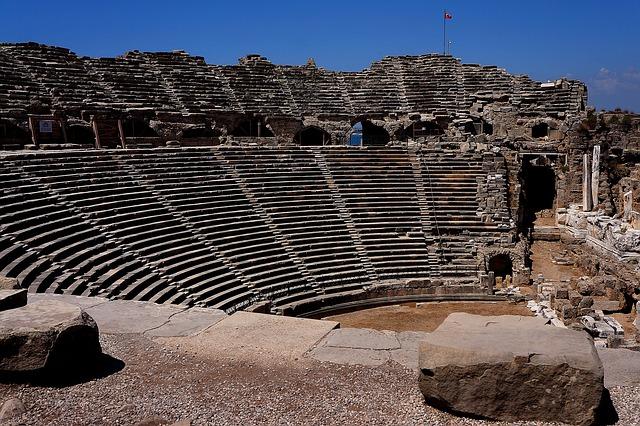 side amfiteatar